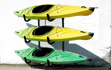 Ruk Sport Three Boat Rack