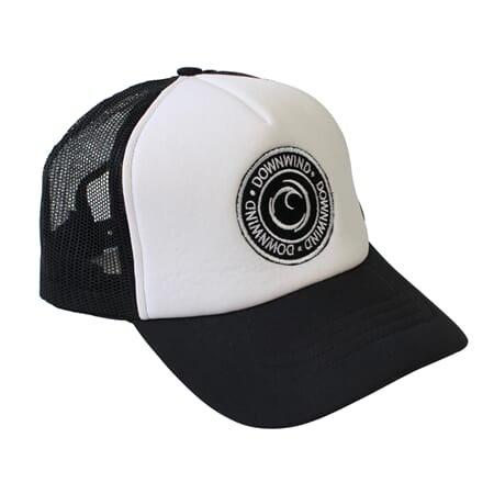 Downwind Badge Trucker White